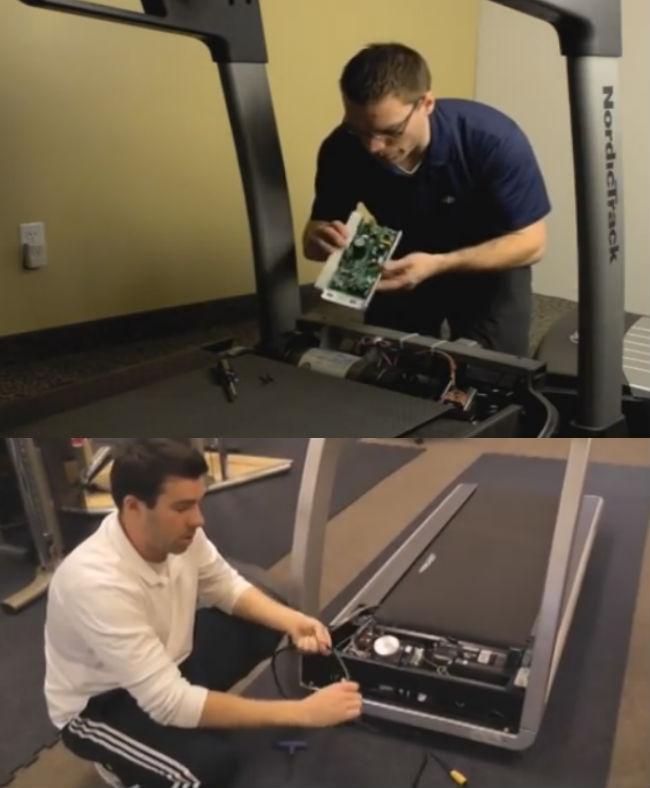 Sửa máy tập thể dục