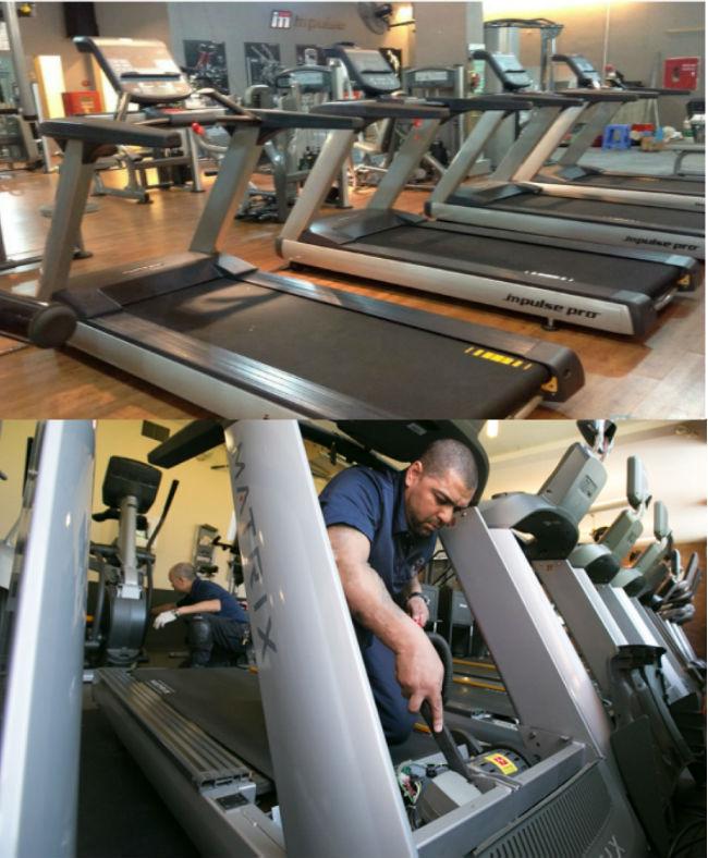 Sửa phòng tập Gym