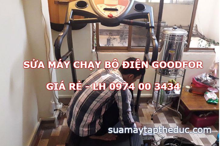 Sửa máy chạy bộ điện Goodfor